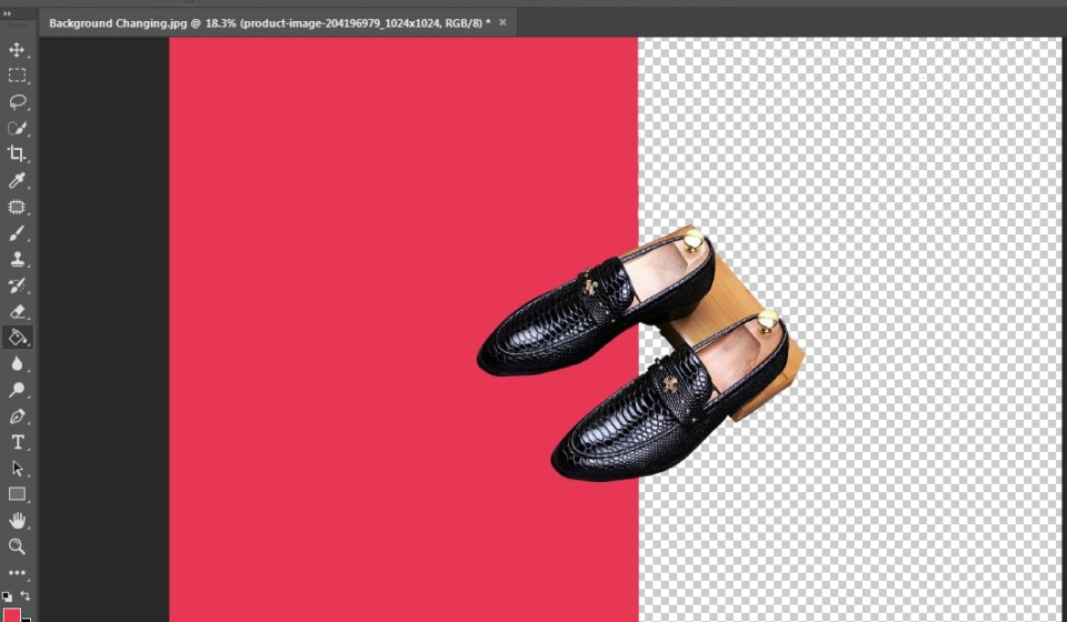 background removal using photocolorist
