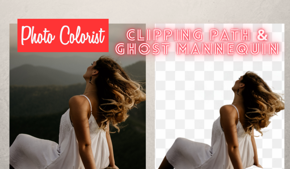 Clipping path & Ghost Mannequin